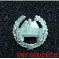Петличная эмблема Танковые войска полевая