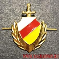 Петличная эмблема милиции Республики Южная Осетия