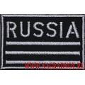 Универсальная нашивка patch Russia с липучкой