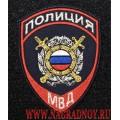 Шеврон полиция общественная безопасность нового образца с липучкой