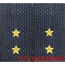 Фальшпогоны нового образца для форменной одежды прапорщиков МВД