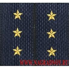 Фальшпогоны нового образца для формы старших прапорщиков МВД