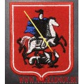 Нарукавный шеврон Герб Москвы с липучкой