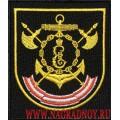 Шеврон военнослужащих 68 бригады кораблей ОВР Черноморского флота