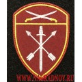 Шеврон с липучкой ВНГ Южного округа меч и стрелы