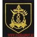Шеврон военнослужащих 1096 зенитного ракетного полка Черноморского флота