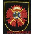 Шеврон военнослужащих 127 бригады разведки Черноморского флота