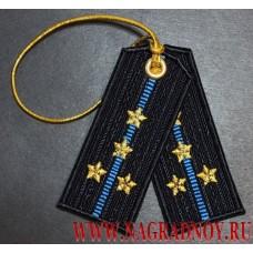 Брелок погоны капитана ВКС ВВС ВДВ