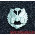 Петличная эмблема Автомобильных войск полевая