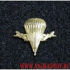 Петличная эмблема ВДВ золотого цвета