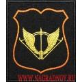 Шеврон ССО для штабной формы черного цвета