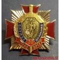 Нагрудный знак 20 лет Службе дознания МВД России