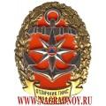 Нагрудный знак МЧС России Отличник ГИМС России
