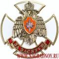 Нагрудный знак МЧС России За заслуги