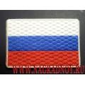 Нашивка с термоклеем Флаг России