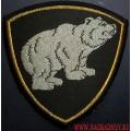 Шеврон ВВ МВД медведь