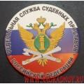 Рельефный магнит с эмблемой ФССП России