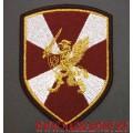 Нарукавный знак принадлежности к главному командованию войск Росгвардии