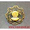 Фрачный значок Эмблема водолазной службы ВМФ