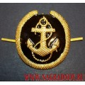 Кокарда Речной флот для курсантов