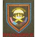 Шеврон 1182-го Гвардейского артиллерийского полка ВДВ приказ 300 полевой