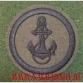 Полевой шеврон Морской пехоты с пришитой липучкой