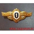 Знак классного специалиста ВС России 1 класс рядовой состав
