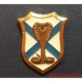 Миниатюрный значок с эмблемой Морской пехоты Черноморского флота