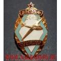 Нагрудный знак ДОСААФ СССР Планерный спорт абсолютный чемпион