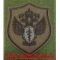 Нарукавный знак сотрудников ФСКН для полевой формы с липучкой