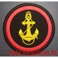 Нарукавный знак военнослужащих по принадлежности к Морской пехоте ВМФ России