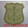 Шеврон военнослужащих Главного штаба ВМФ России для полевой формы
