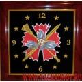 Часы настенные с эмблемой ГРУ ГШ ВС РФ