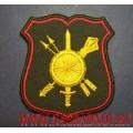 Шеврон военнослужащих штаба Ракетных войск стратегического назначения