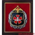 Плакетка с эмблемой Главного разведывательного управления Генерального штаба ВС РФ