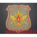 Нарукавный знак должностных лиц Генерального штаба ВС РФ для парадного кителя серого цвета