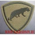 Нашивка на рукав полевая ВВ МВД пантера