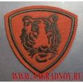 Нашивка на рукав военнослужащих ВВ МВД тигр краповый фон