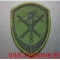 Нарукавный знак сотрудников следственных подразделений в системе МВД для полевой формы