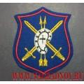 Нарукавный знак военнослужащих 28-й гвардейской дивизии РВСН (для парадной формы)