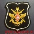 Шеврон Органов военного управления МО РФ для офисной формы черного цвета