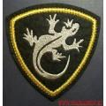 Нашивка на рукав Внутренних войск МВД ящерица